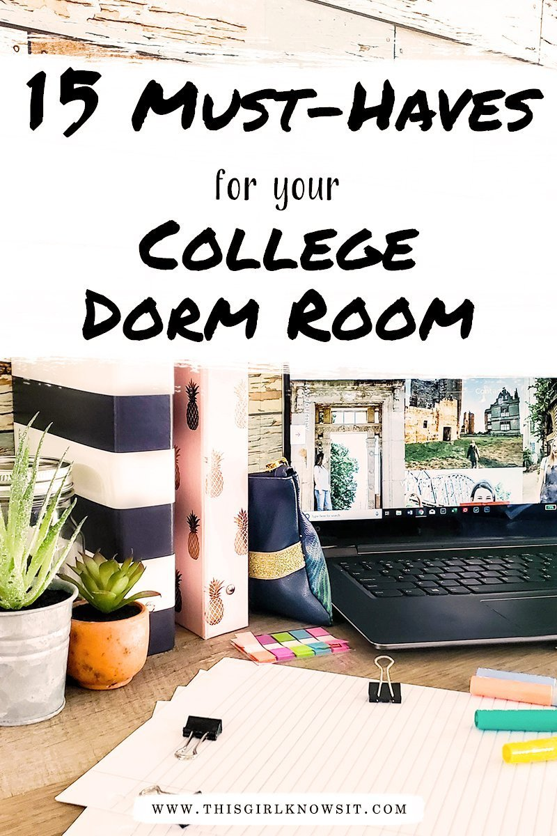 15 Must-Haves For Your College Dorm Room