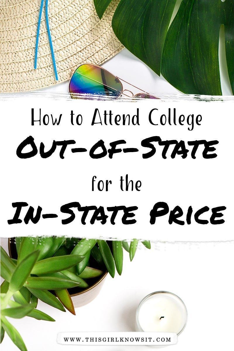 How to Attend an Out-of-State College for the In-State Price
