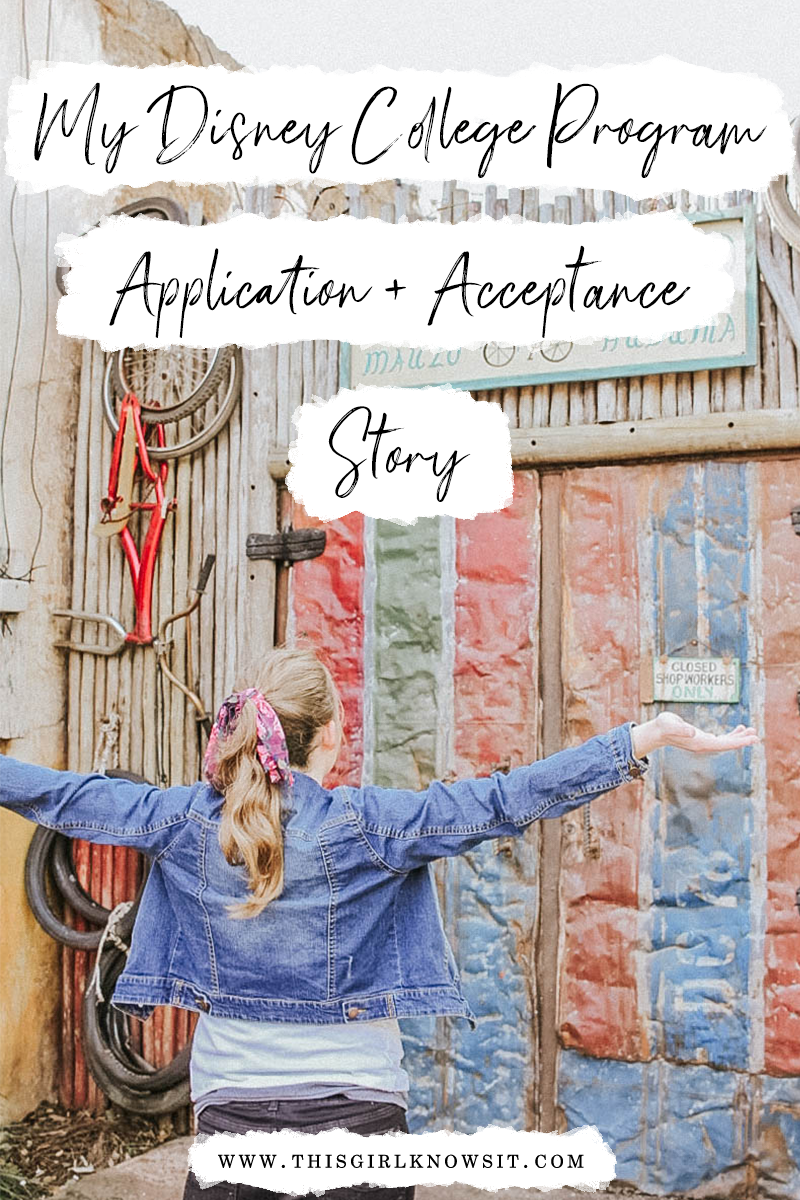 My DCP Application and Acceptance Story