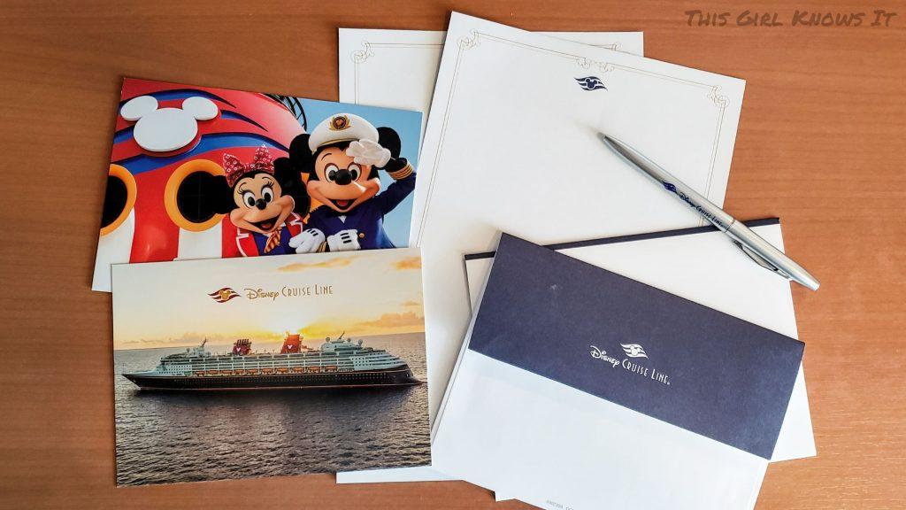 Disney Cruise Line Stationary